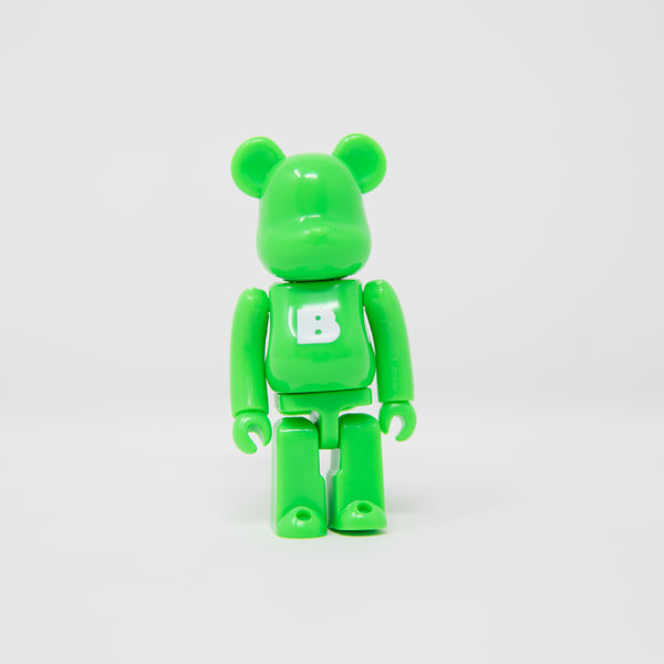 Medicom Toy BEARBRICK Green Letter B - Basic Series 38 100% Figure (MINT)