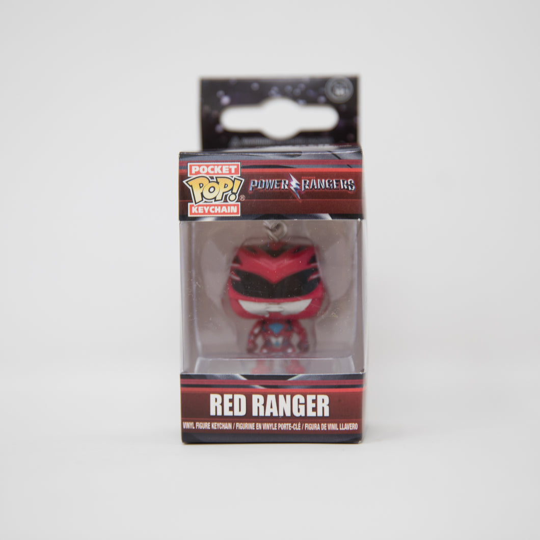 Funko Pop Keychain - Power Rangers - Red Ranger Vinyl Figure (NEW)