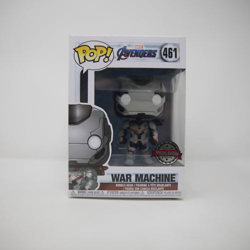 Funko Pop Marvel Avengers #461 - War Machine - Special Edition (MINT)