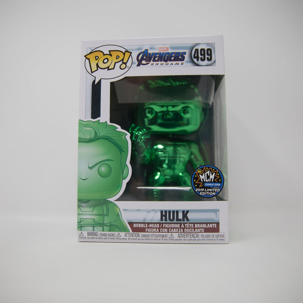 Funko POP! Avengers Endgame #499 - Hulk - MCM Comic Con 2019 Limited Edition Exclusive (MINT)