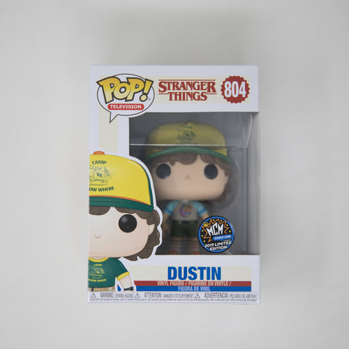 Funko POP! Stranger Things #804 - Dustin - MCM Comic Con 2019 Limited Edition Exclusive (MINT)