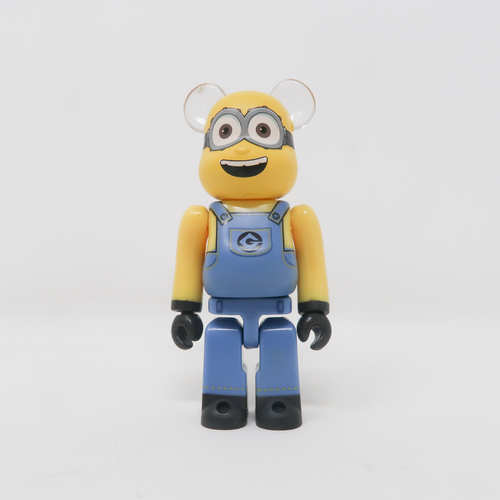 Medicom Toy BEARBRICK Dave Minion Despicable Me 3 - SF Series 34 100% Figure (MINT)