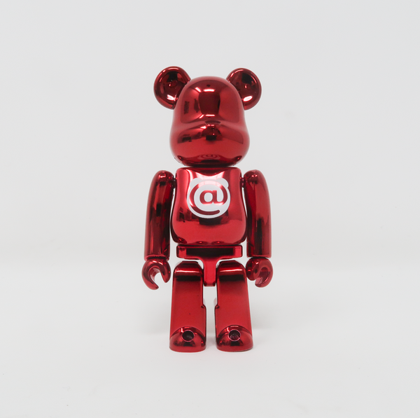 Medicom Toy BEARBRICK Metal Red Letter @ - Basic Series 21 100% Figure (MINT)