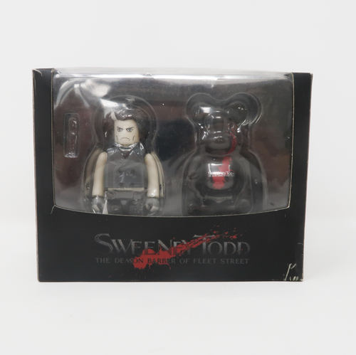 Medicom Toy Bearbrick Sweeney Todd 100% Demon Barber of Fleet Street Box Set (MINT)