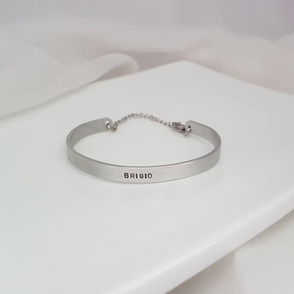 Child Cuff Chain Bangle