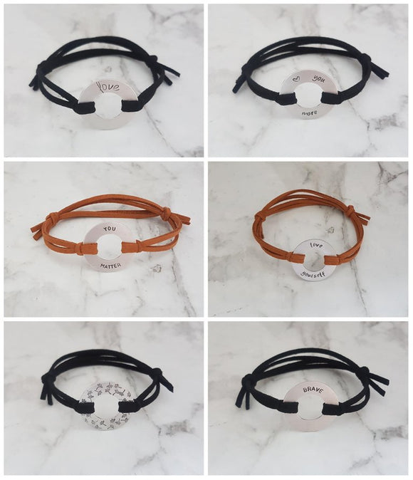 Adjustable Washer Bracelet