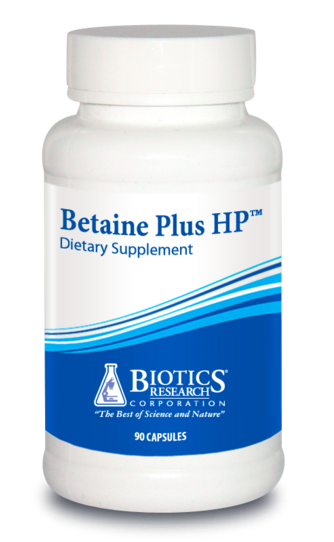 Betaine Plus HP by Biotics Research