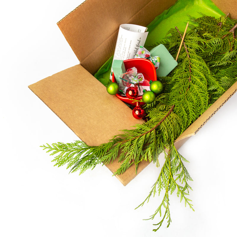 DIY Whoville Tree in a Box