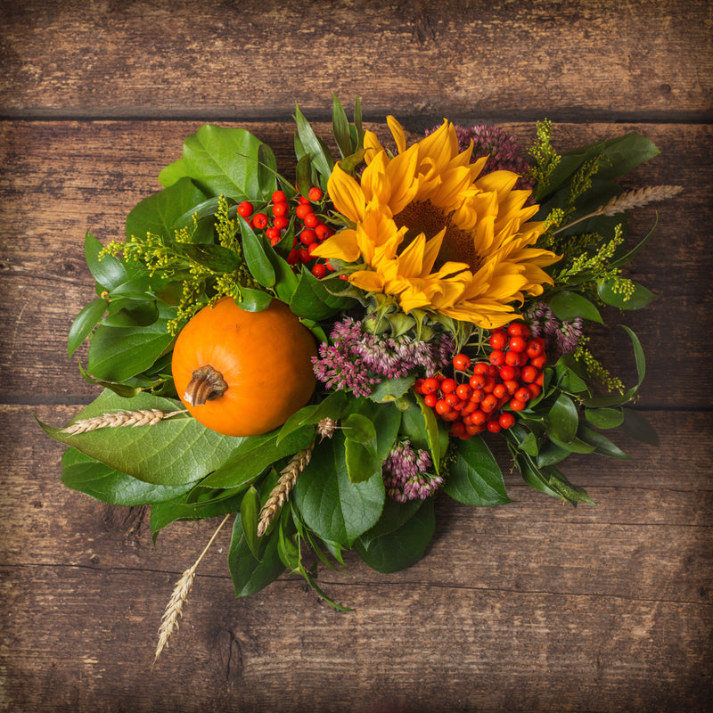 Small Autumn Centrepiece