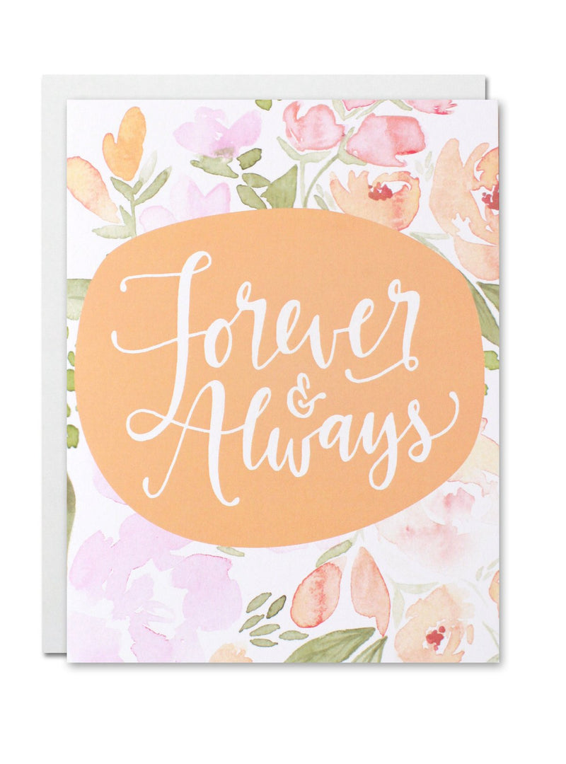 """Forever And Always"" Card"