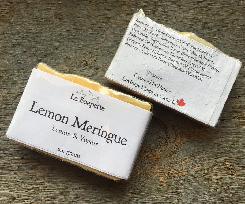 Lemon Meringue All Natural Soap - La Soaperie