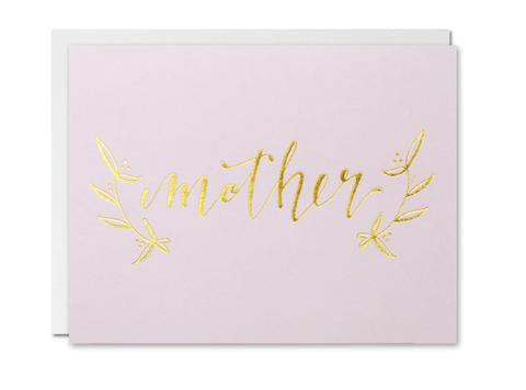 Justine Ma Designs Card that reads Mother