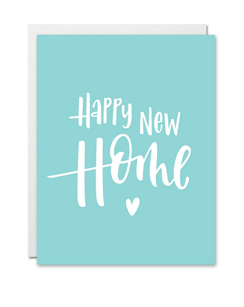 """Happy New Home"" Card"