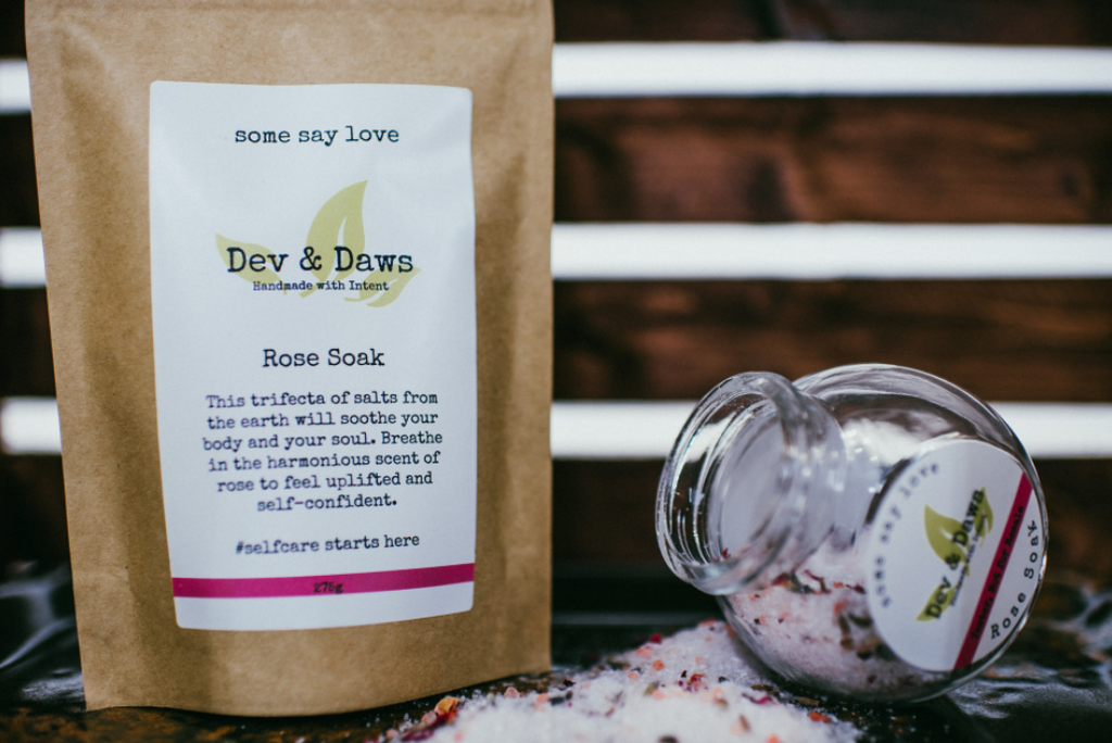 Bath Soaks 275 grams  - Dev & Daws
