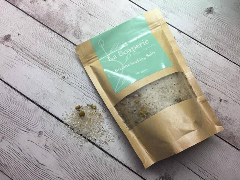 Breathe Soaking Salts - La Soaperie