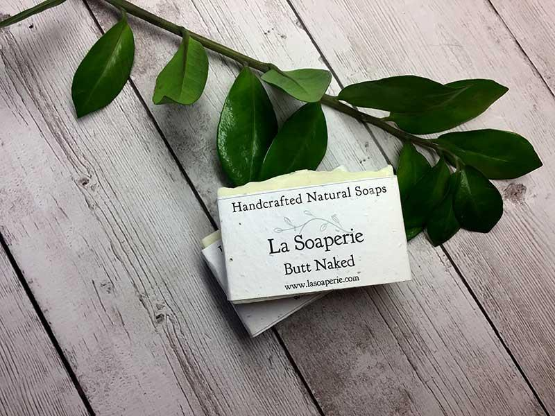 Butt Naked All Natural Soap - La Soaperie