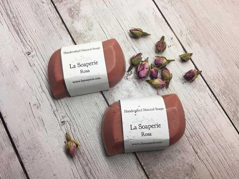 Rosa All Natural Soap - La Soaperie
