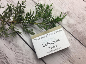 Timber All Natural Soap - La Soaperie