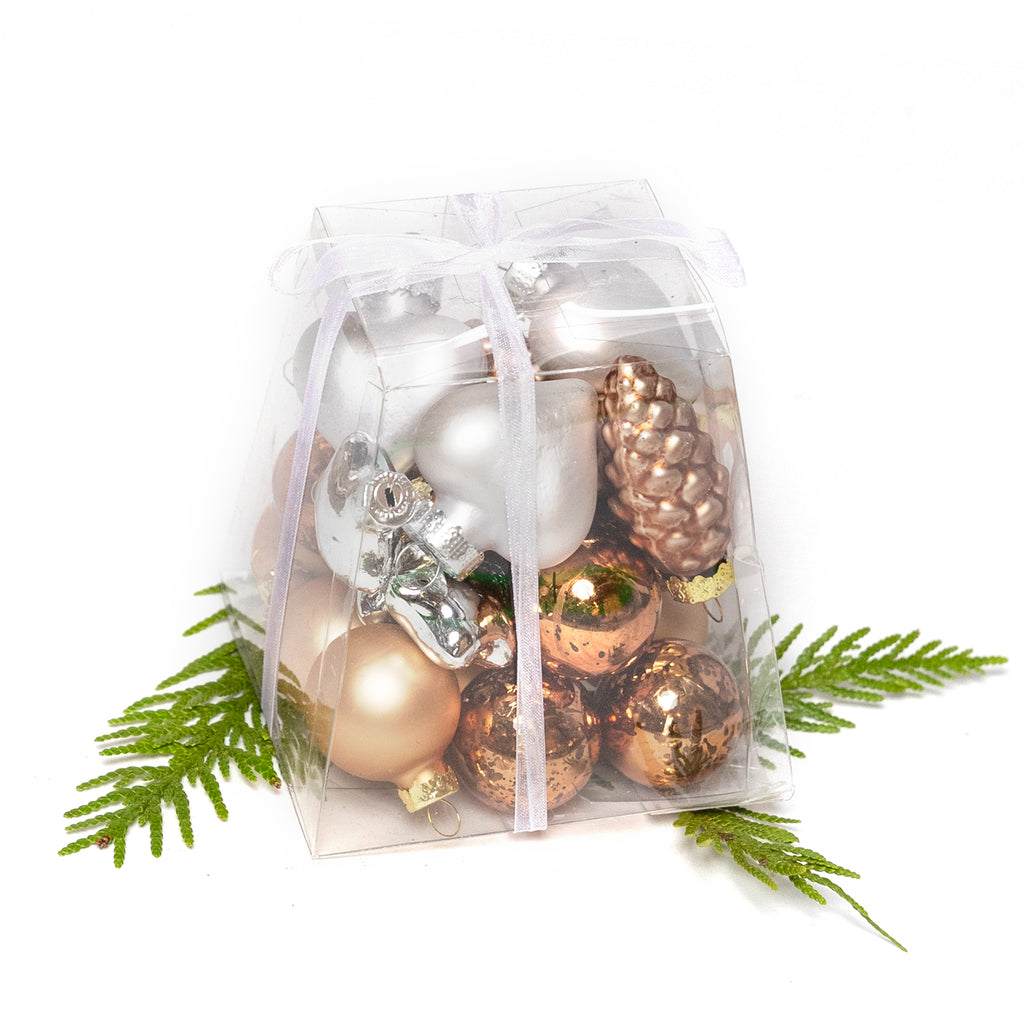 Small Glass Ornament Packs
