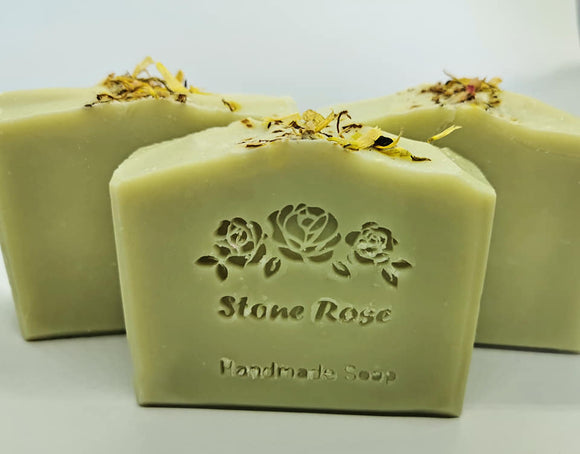 Rosemary & Mint cold process soap