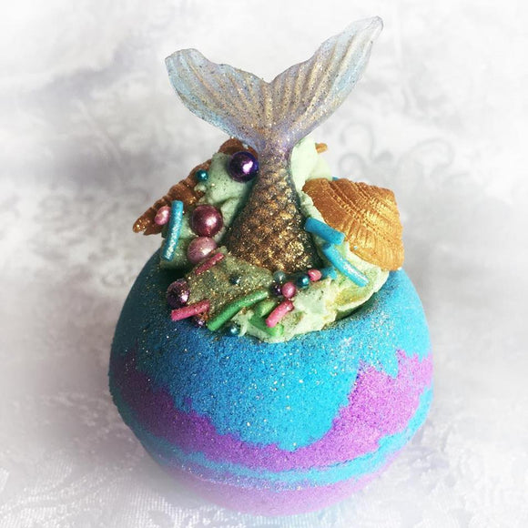 Mermaid cove bath bomb truffle
