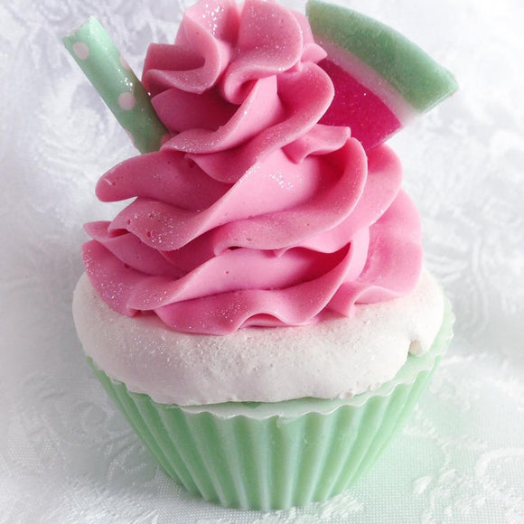 Watermelon Cupcake Soap