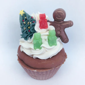 Gingerbread Man Cupcake Soap