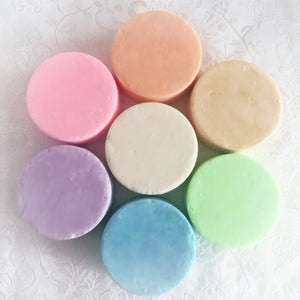 Solid Shampoo | SLS Free | Soap Free | pH Balanced.
