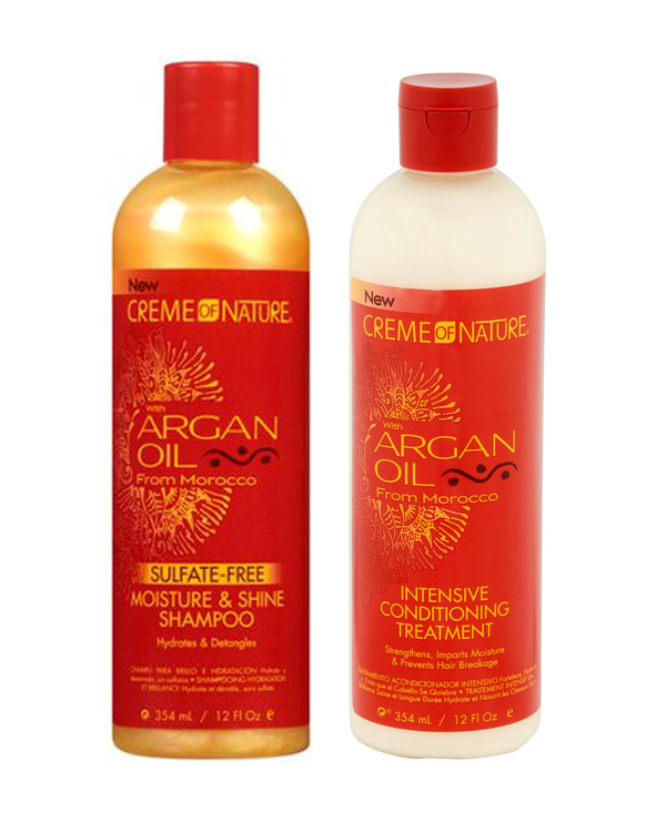 Creme of Nature Shampoo & Conditioning Treatment Bundle