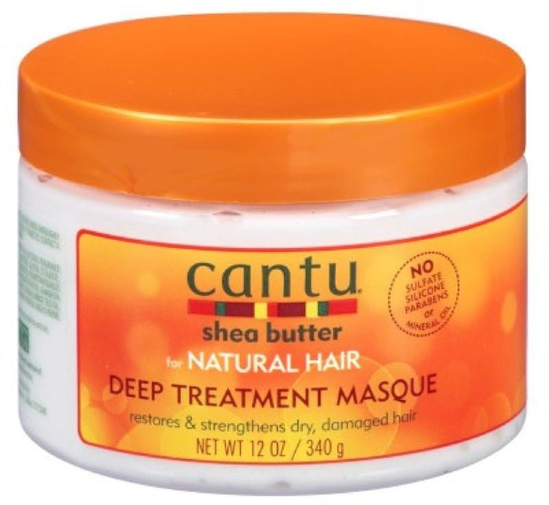 Cantu For Natural Hair Deep Treatment & Leave-in Conditioning Cream Bundle