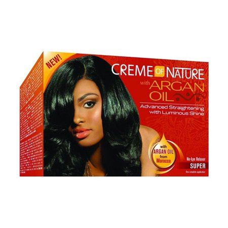 Creme of Nature Argan Oil No-Lye Relaxer ~ Super