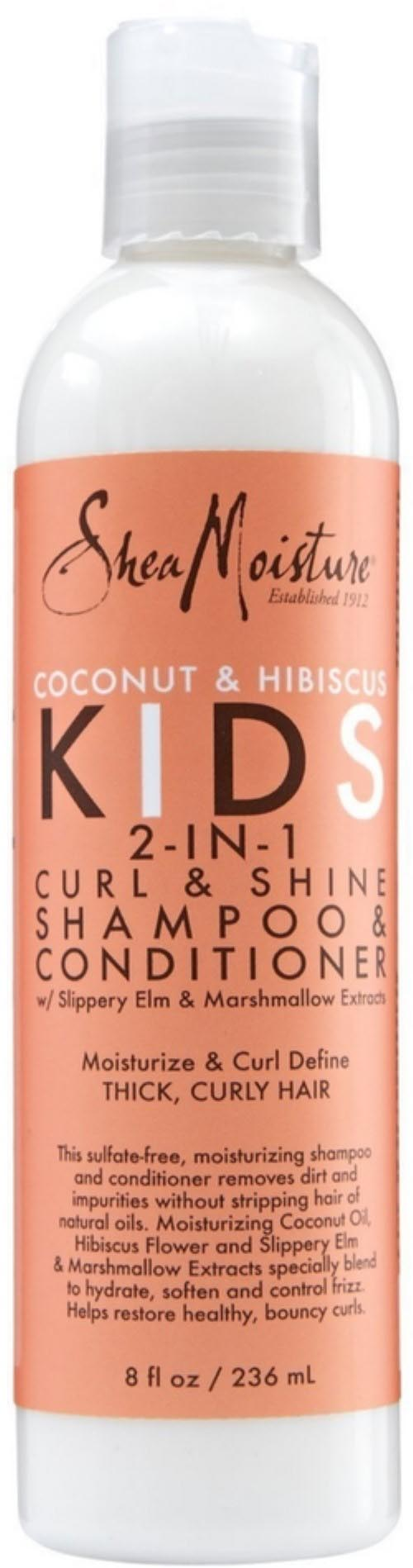 SheaMoisture Coconut & Hibiscus Kids 2in1 Shampoo & Conditioner