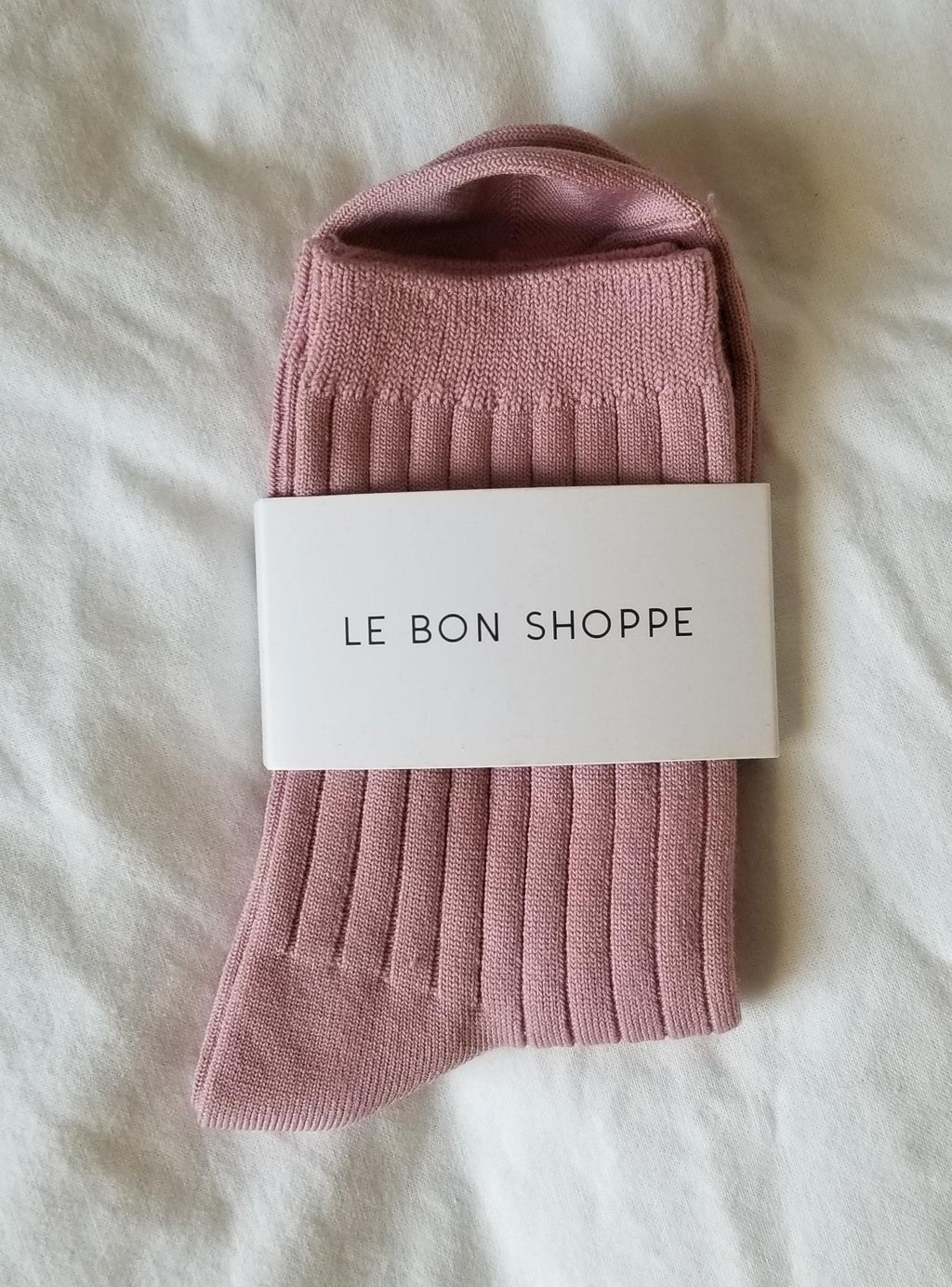 Le Bon Shoppe Her Socks - Desert Rose