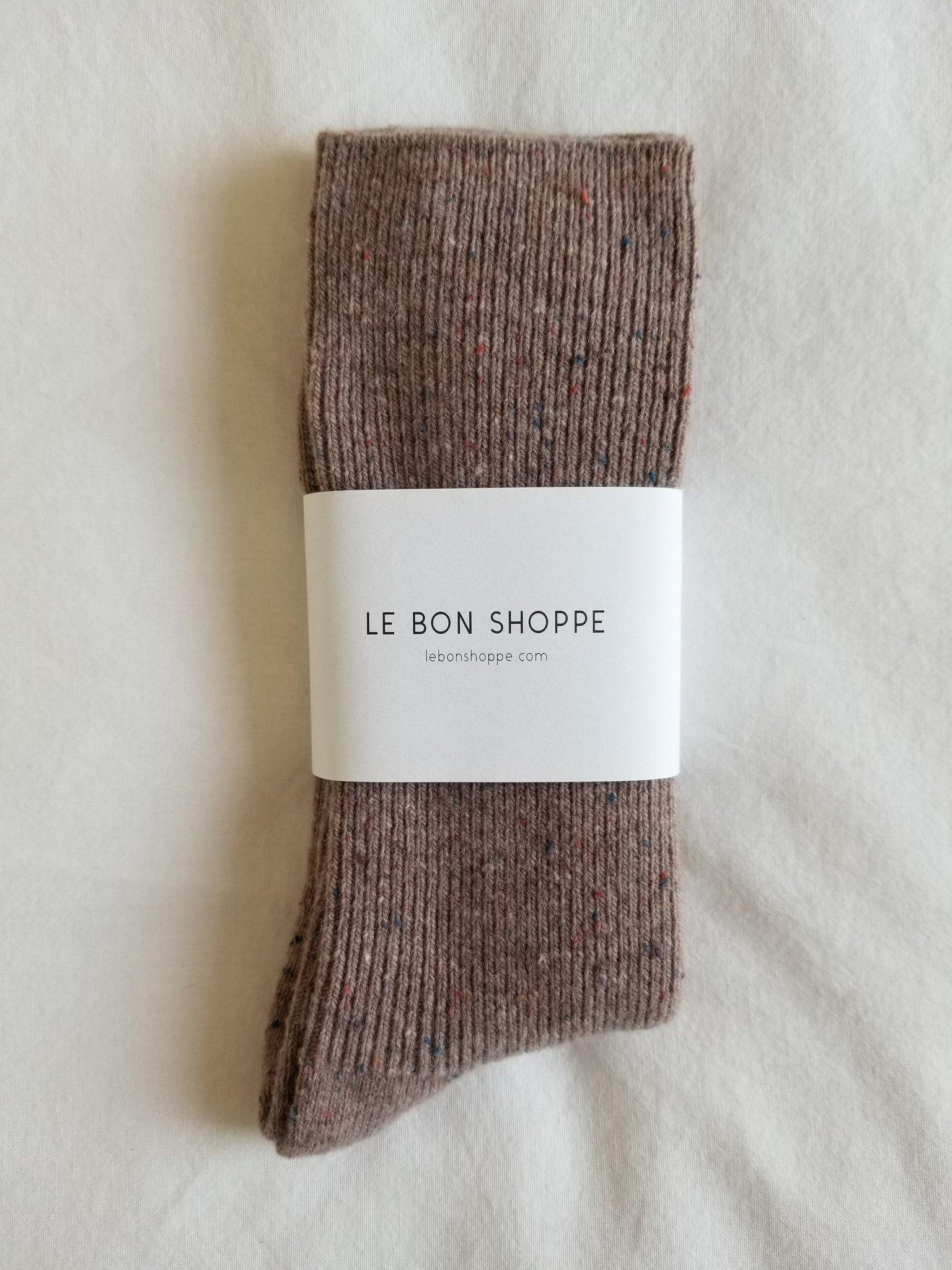 Le Bon Shoppe Snow Socks - Mauve