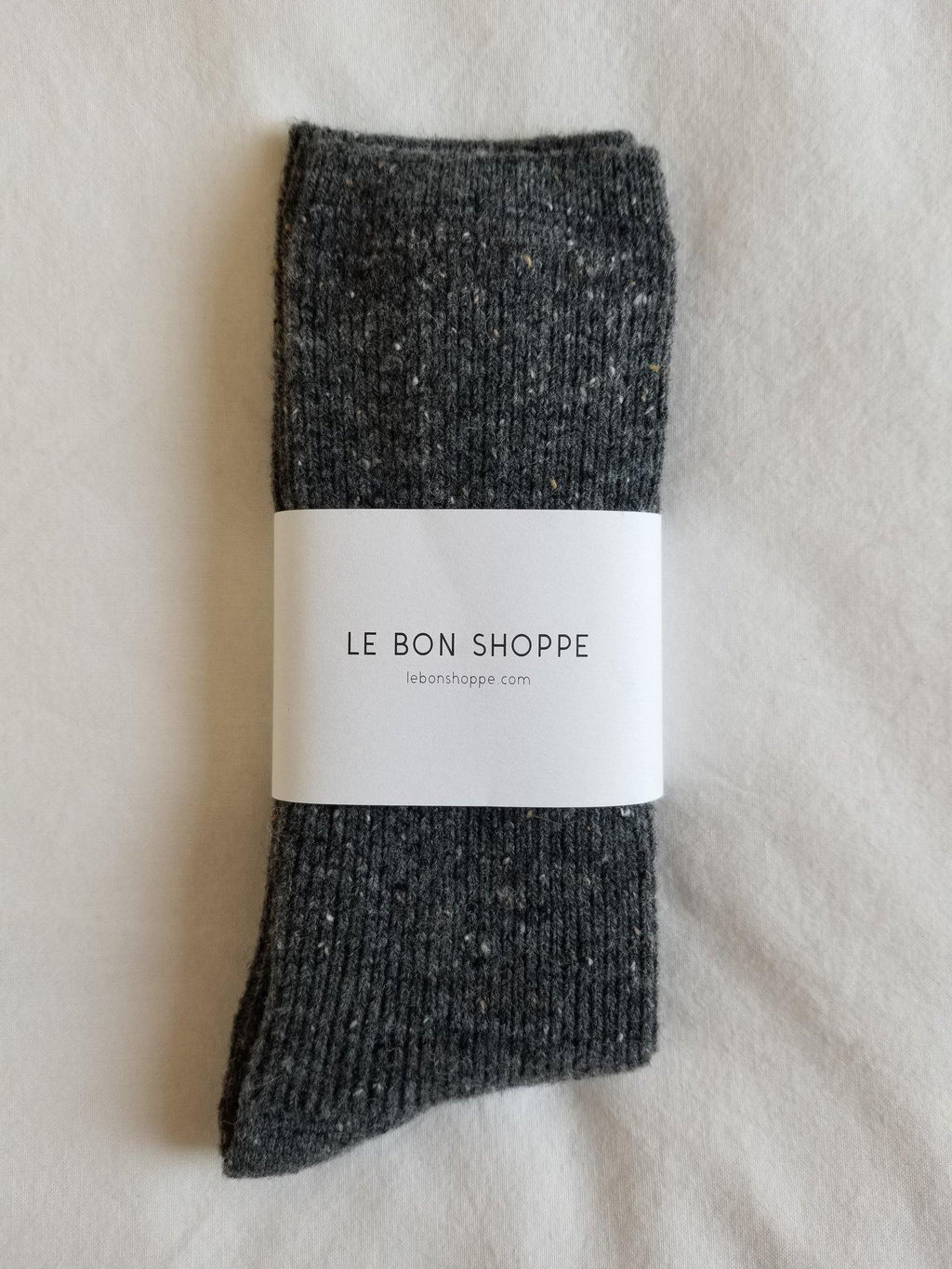 Le Bon Shoppe Snow Socks - Charcoal - Vincent Park