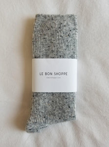 Le Bon Shoppe Snow Socks - Cookies & Cream
