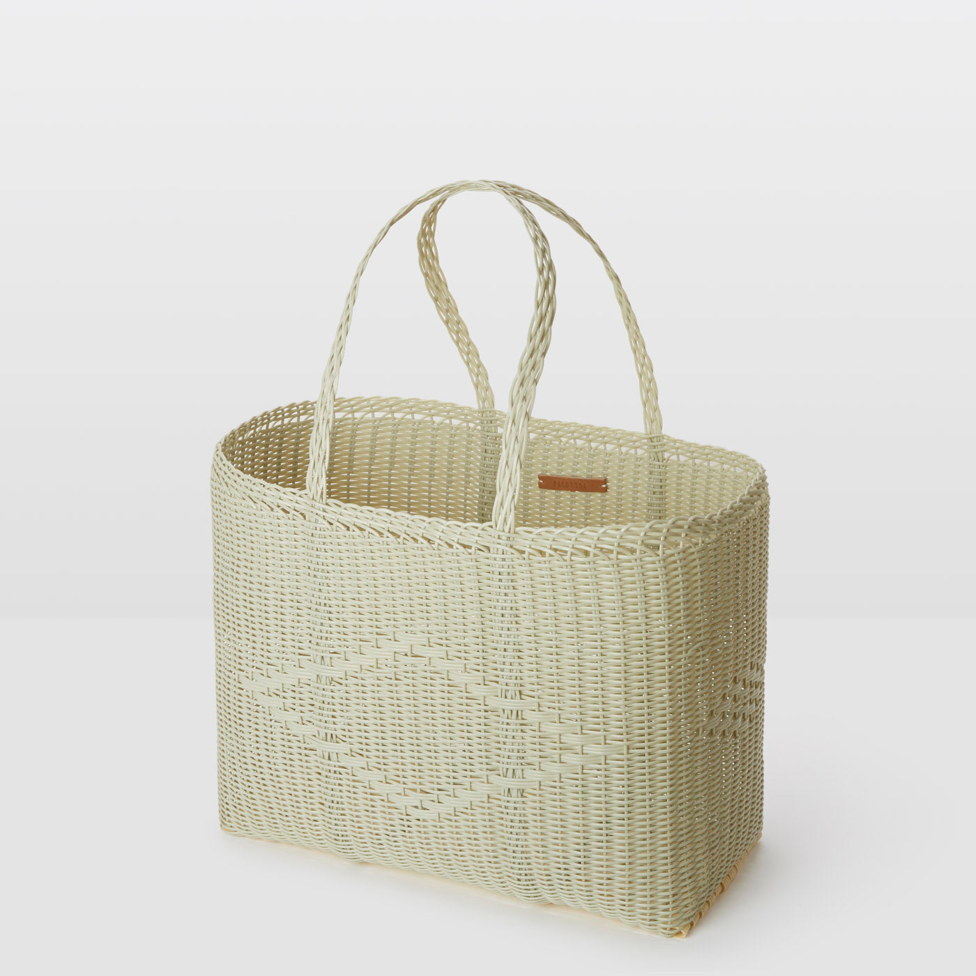 Palorosa Large Handwoven Basket Tote - Palm