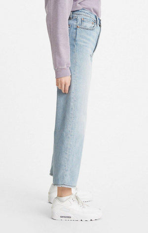 Levi's Ribcage Ankle Straight - Middle Road