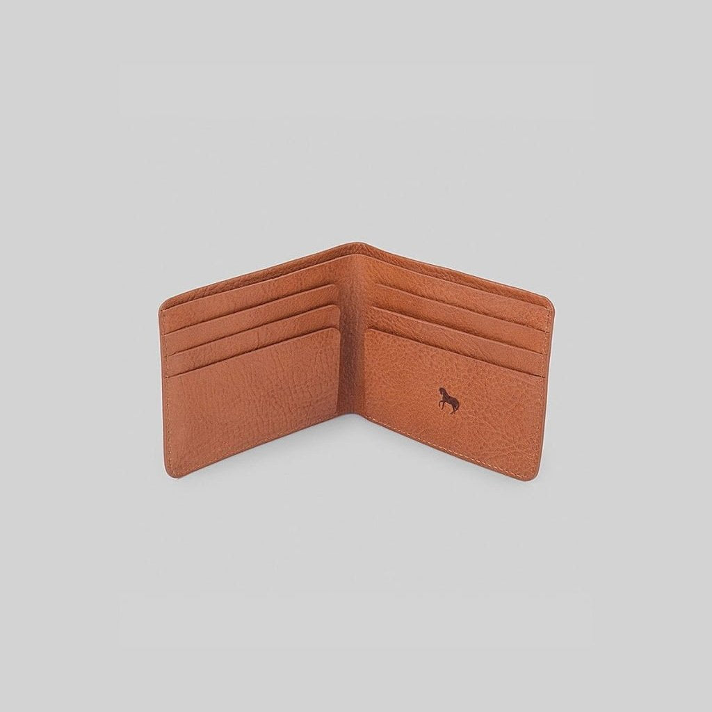 The Horse Men's Wallet - Tan