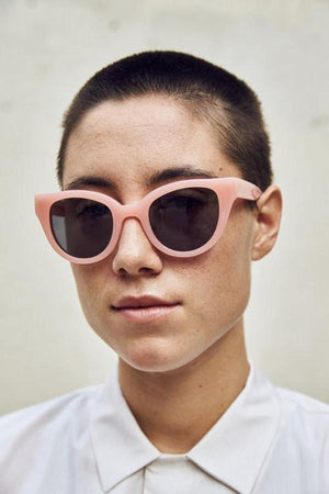Carla Colour Barton Sunglasses - Flesh