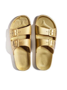 Freedom Moses Slides - Gold