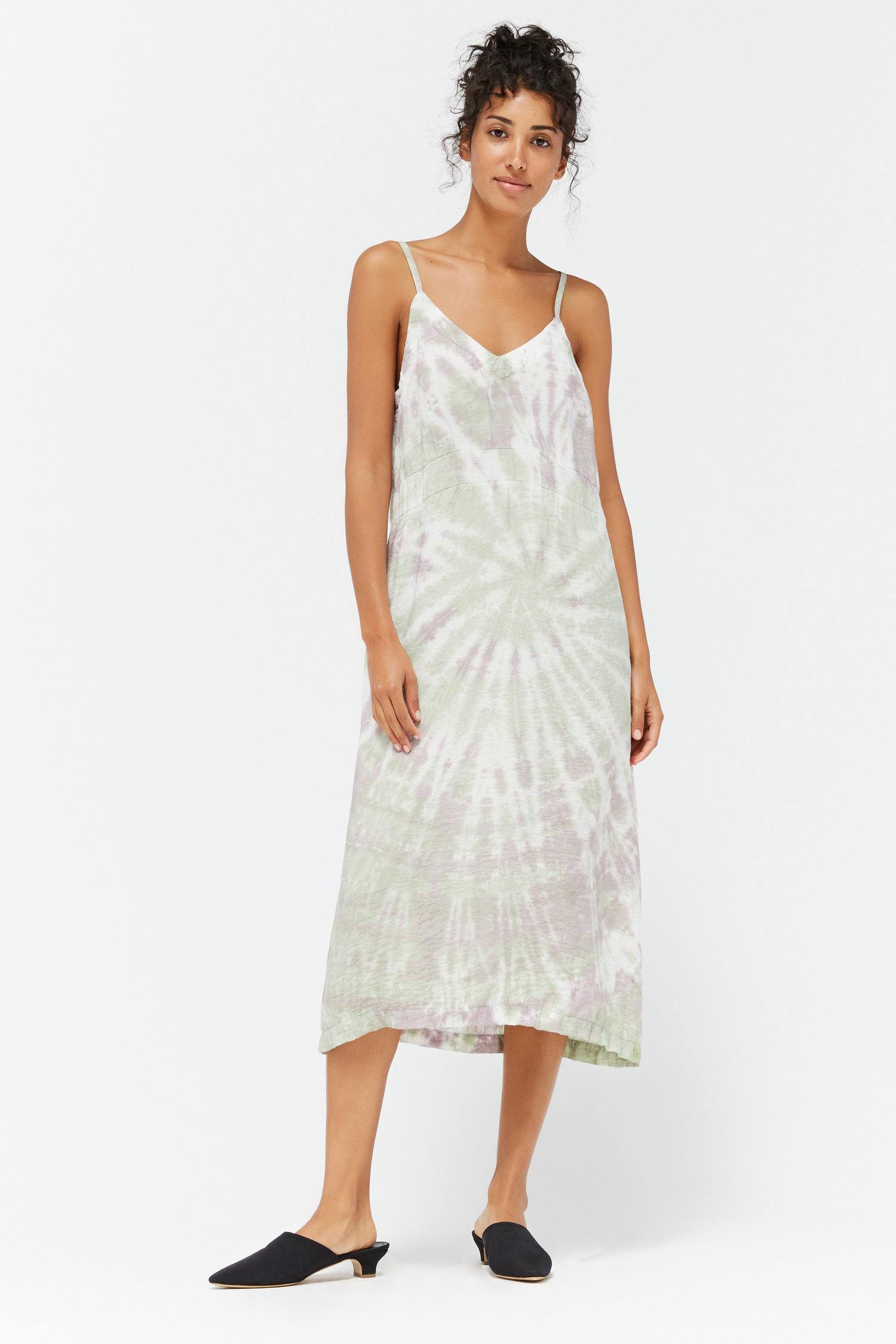 Lacausa Alma Slip Dress - Sugar Plum Swirl