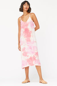 Lacausa Alma Slip Dress - Raspberry Wash