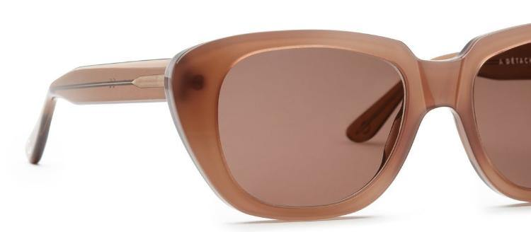 Carla Colour x A Detacher Gloria Sunglasses - Mink