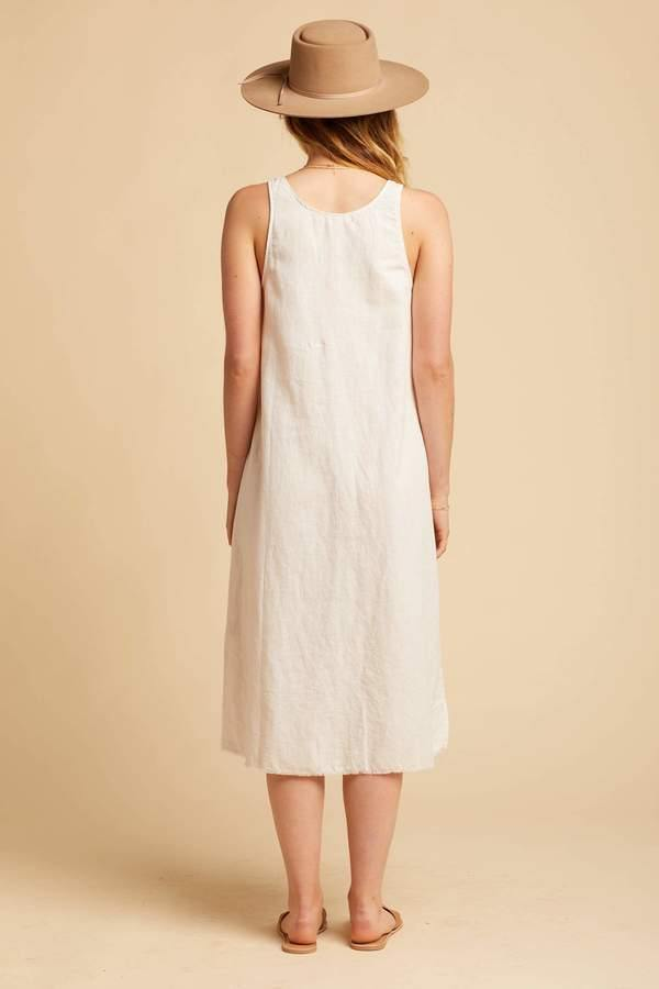 Lacausa Reversible Linen Dress
