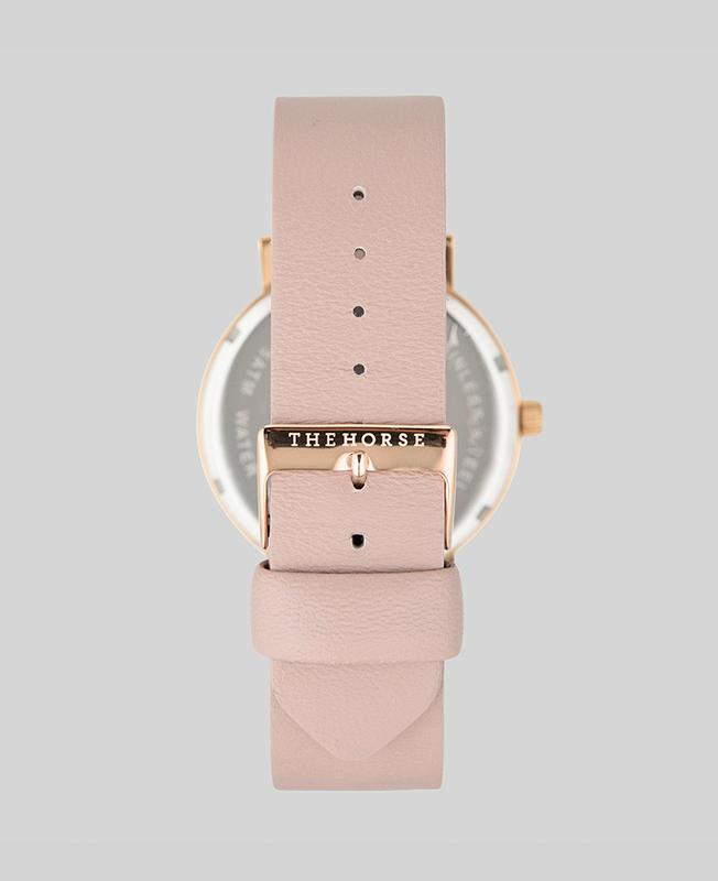 The Horse Original Watch - Rose Gold / Blush Leather
