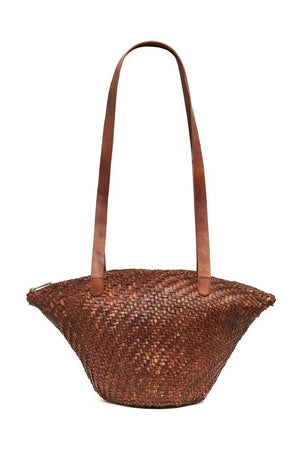 St. Agni Otton Woven Bag - Antique Tan