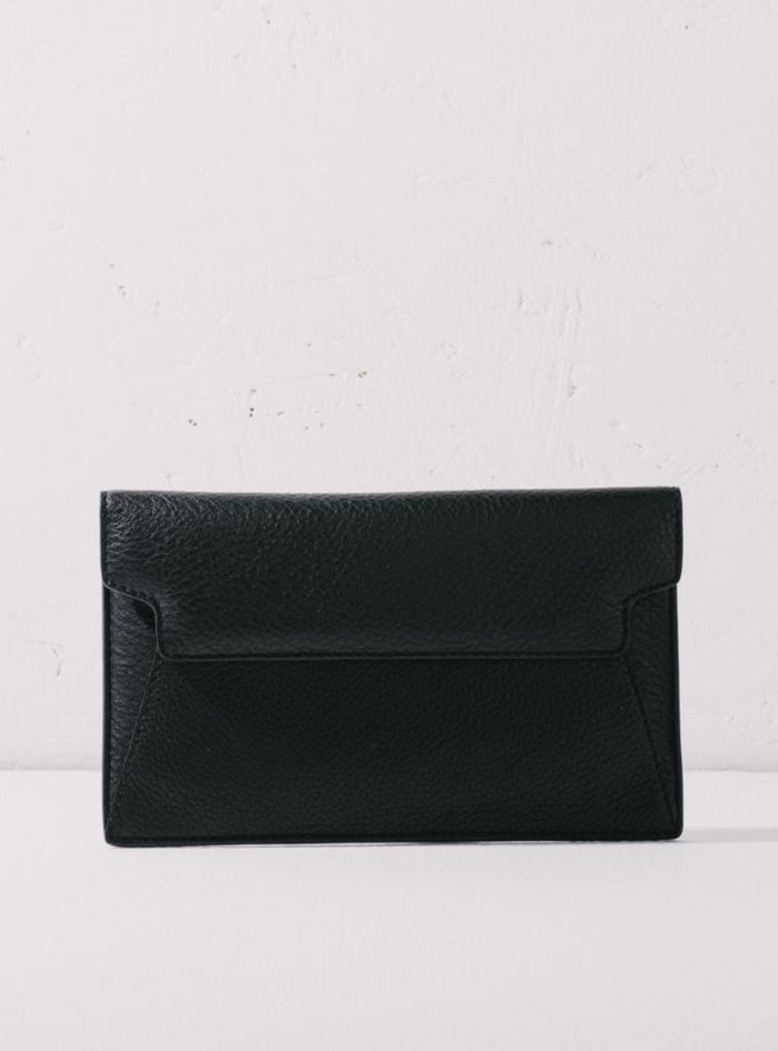 The Horse Envelope Clutch - Black