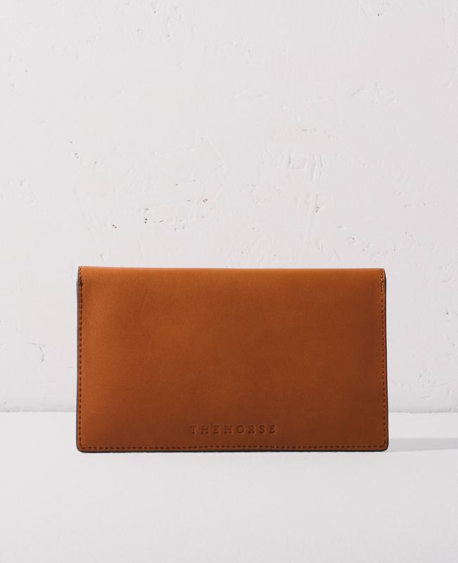 The Horse Envelope Clutch - Tan