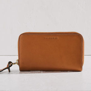 The Horse Block Wallet - Tan